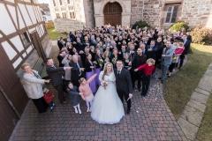 Hochzeitsgruppe