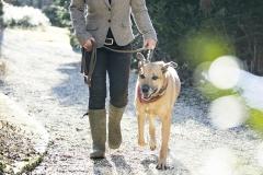 Tina and Dog